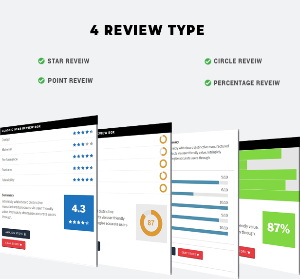 BsReviews - WordPress Posts & Comments Review Plugin - 1