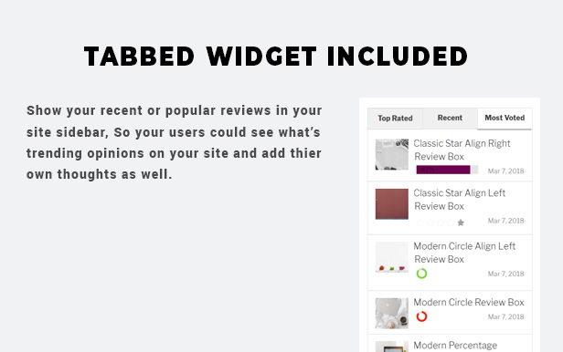 BsReviews - WordPress Posts & Comments Review Plugin - 6