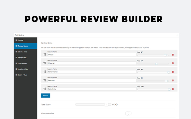 BsReviews - WordPress Posts & Comments Review Plugin - 3