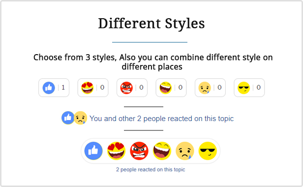 Engager - Reactions builder for Posts, Comments and Forums - 3