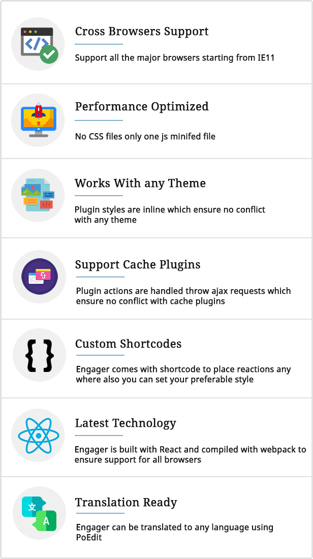Engager - Reactions builder for Posts, Comments and Forums - 4